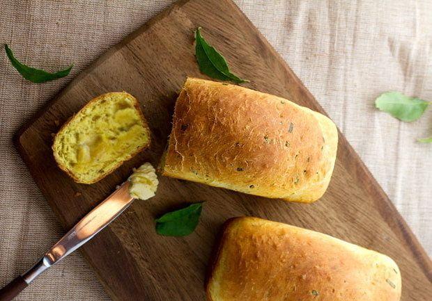 Savory Curry Leaf Bread