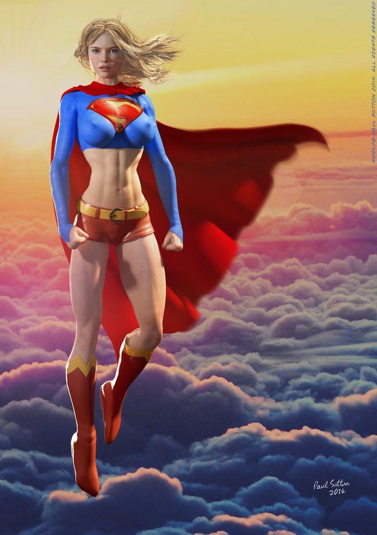 Supergirl is a superslut