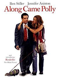 #1117. Along Came Polly, April, 2017. Reuben Feffer thinks he's found the love of his life but on his honeymoon he discovers Lisa cheating on him with a scuba instructor. On a night out with best pal, Sandy Lyle, Reuben discovers an old school friend, Polly Prince. Reuben feels a connection straight away, and tries constantly to get her to like him. It's not going to be easy for Reuben, especially when he spends his days calculating risks, when someone unexpected turns up.