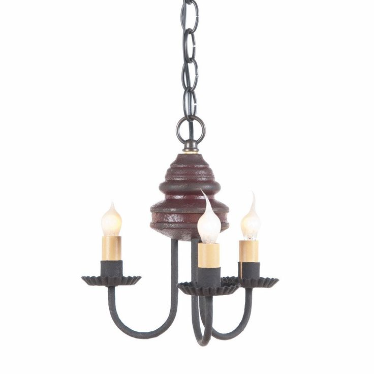 top 925 ideas about primitive country lighting wood and metal chandelier primitive colonial ceiling light 3 candle candelabra