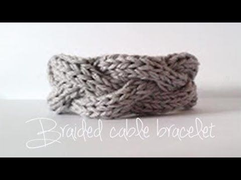 How to Easy Loom Knit a Braided Headband / Ear Warmer (DIY Tutorial) - YouTube