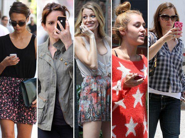 Celebrities with iPhone 5 Cases Jessica Alba, Black Lively, Miley Cirus #iPhone5cases #jessica #alba #black #lively #miley #cirus #iPhone5 #Case #fashion #celebrities #movie #cases