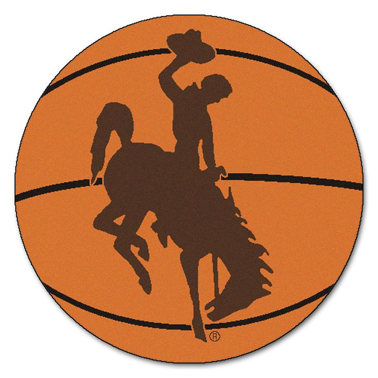 Wyoming Cowboys Basketball Area Rug