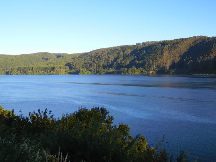 vista de la Isla del Rey desde Niebla