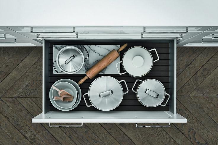 SieMatic Classic BeauxArts - aménagement intérieur de cuisine.