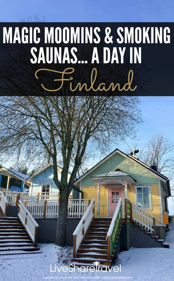 Welcome to Naantali, the sunniest town in Finland, home to magic Moomins and smoking saunas. Discover the town's many charms, with our five unusual things to see and do, plus an exclusive video from our travel adventures there. #finland #moomins #familytravel