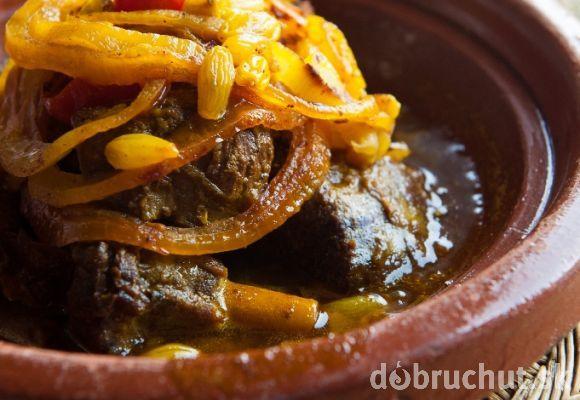 Marocké hovädzie kúsky  dobrý recept