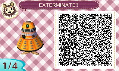 EXTERMINATE! | QRCrossing.com