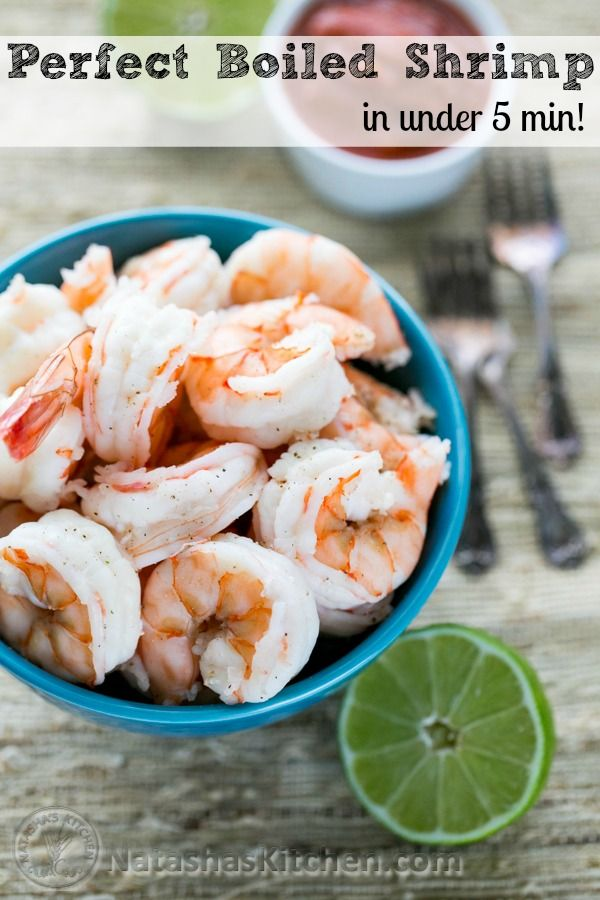 Click to see tips for great boiled shrimp every time! @NatashasKitchen