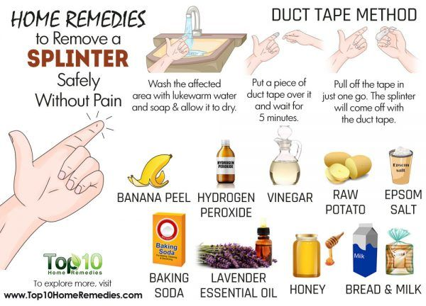 Home Remedies to Remove a Splinter Safely Without Pain | Top 10 Home Remedies