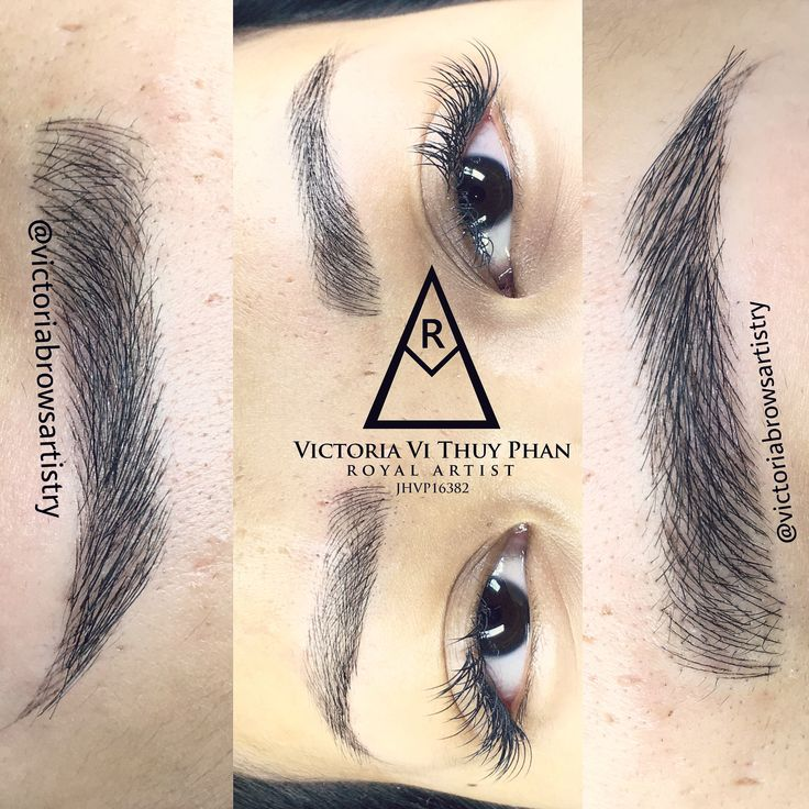 Pin by Victoria Thuy Phan on Phibrows Royal artist houston
