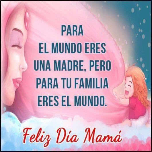 Mensajes bonitos para el dia de la madre en imagenes