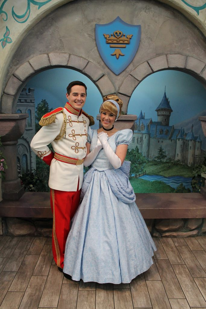 On February 14, 2012 at the Disney Princess Fantasy Faire in Fantasyland, Disneyland (Disneyland Resort, Anaheim, CA) The highlight of Valentine's Day at Disneyland is that the Princes meet with the Princesses at Disney Princess Fantasy Faire.