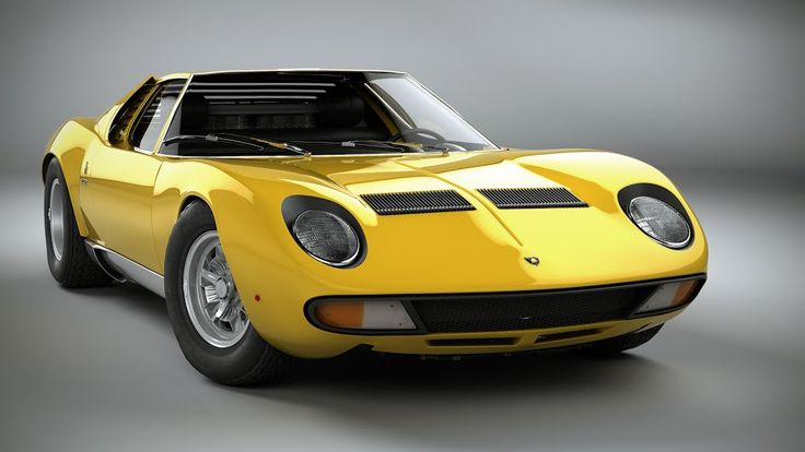 Meet the LAMBORGHINI MIURA! The Supercar game changer of 1965. Hit the image for more pics...