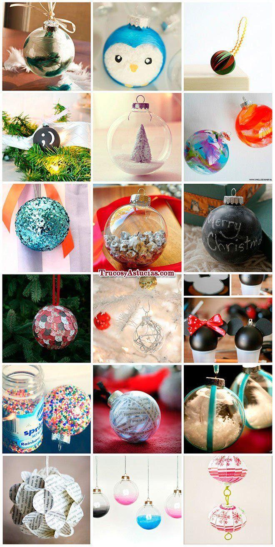 Bolas de navidad con manualidades christmas tree - Bolas arbol navidad manualidades ...