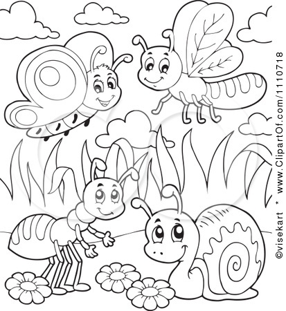 Google Image Result for http://images.clipartof.com/small/1110718-Clipart-Outlined-Butterfly-Dragonfly-Ant-And-Snail-Royalty-Free-Vector-Illustration.jpg