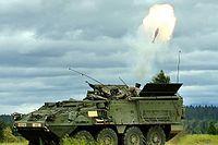 Artillería autopropulsada - Portamorteros M1129Wikipedia, la enciclopedia libre