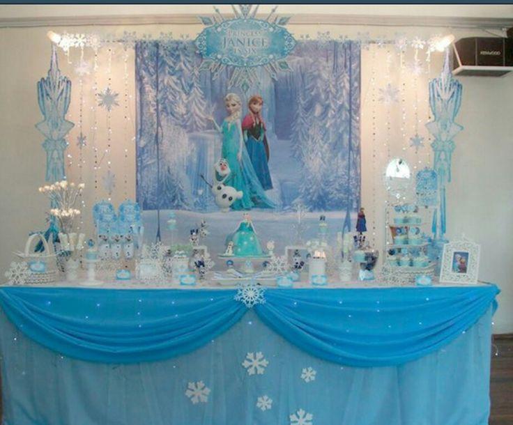 54 best frozen party images on Pinterest Birthdays Frozen