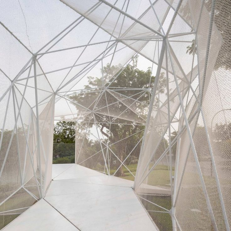AIRLAB 3D prints stainless steel pavilion for Singapore's