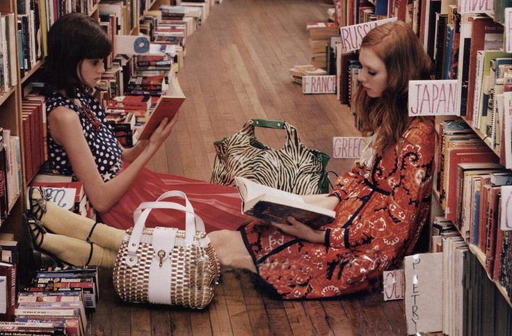 Book stores, best friends and travel... Wonderful.