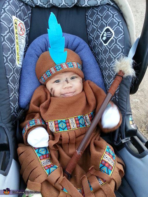 Baby Indian Halloween Costume