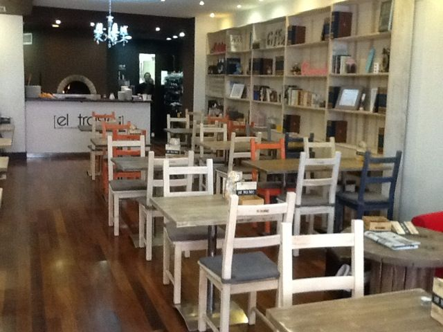 Cafeterias rusticas pesquisa google comedor los - Decoracion de cafeterias pequenas ...