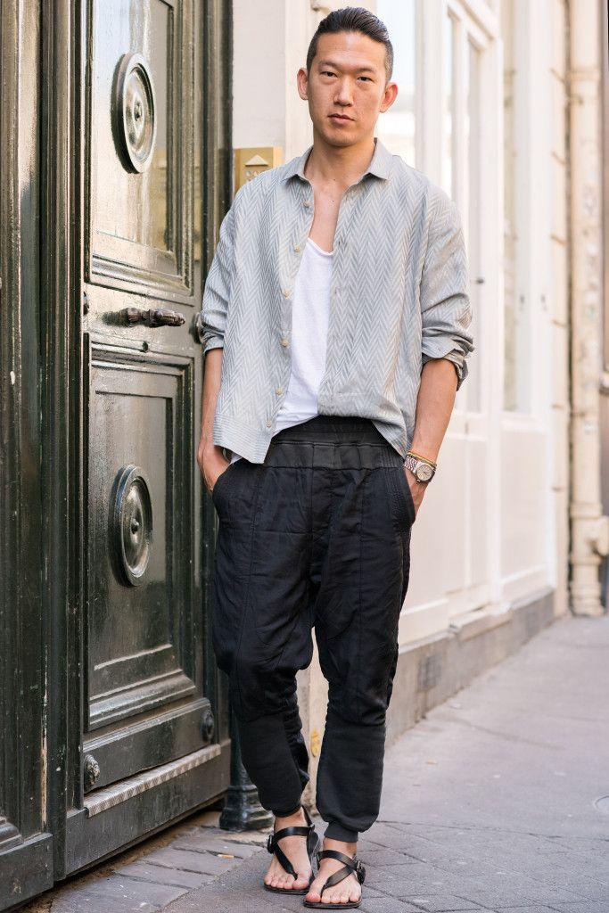 black x white x grey // causal menswear street style + fashion