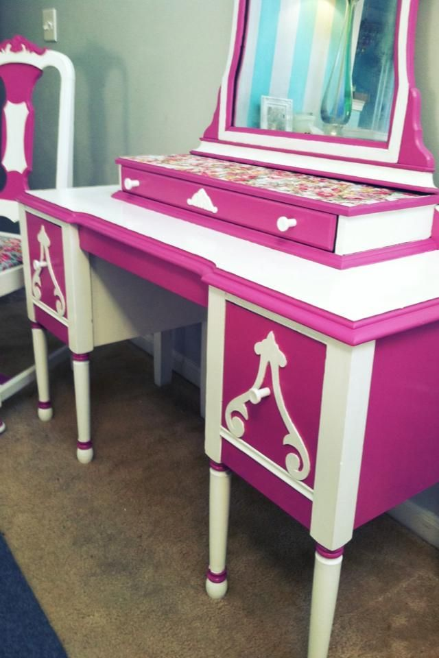upcycled furniture for sale | Vintage Upcycled Vanity Set for sale in Olmsted Falls | HipSwap
