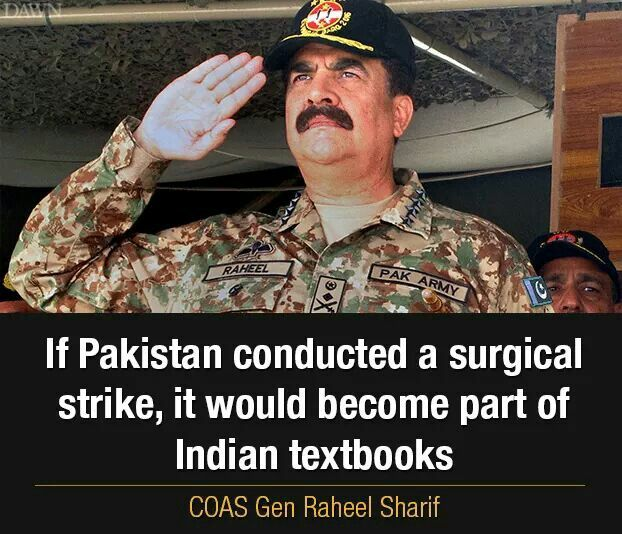 """I would like to dedicate my post retirement life to the welfare of slain soldiers' families"" - General Raheel Sharif"