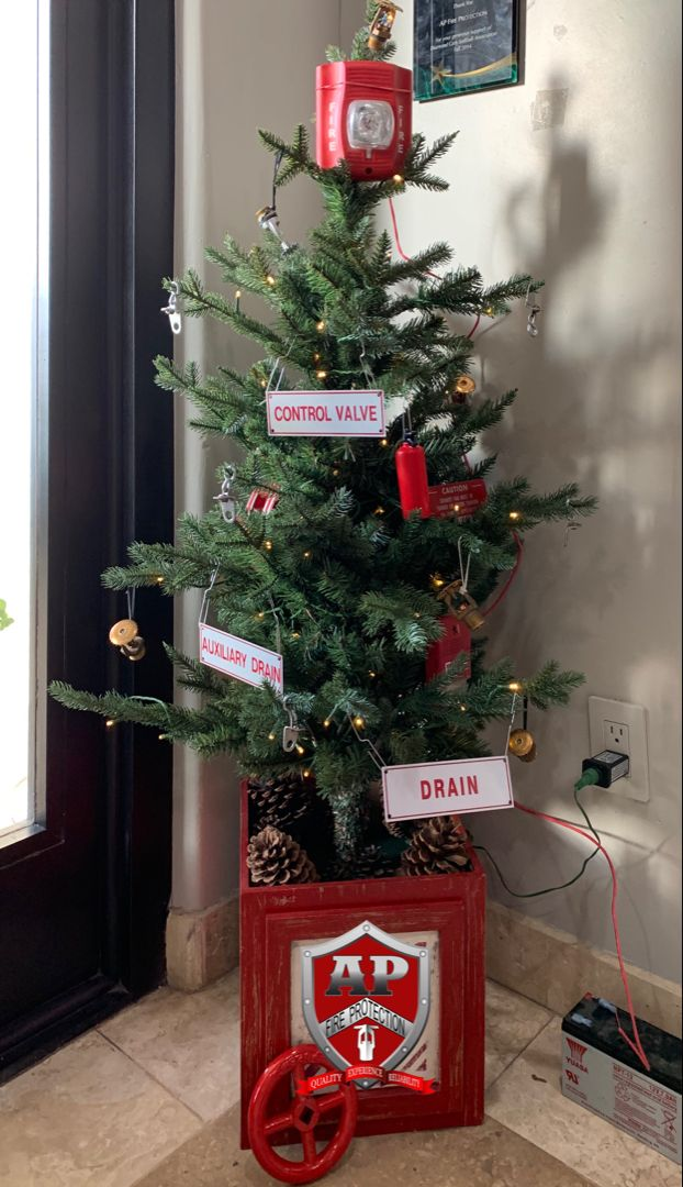 A P Fire Christmas Tree Fire Protection Fire Protection Services Christmas Tree