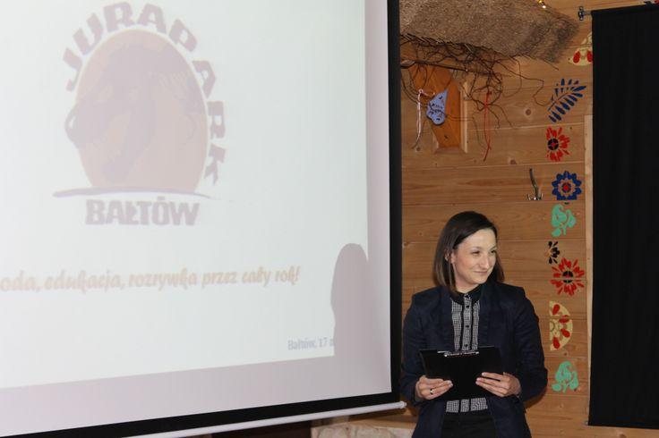 Ania gotowa do prezentacji:-)