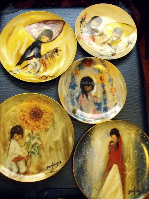 Lot of 5 Highly Collectible De Grazia Wall by DeeSweetNostalgia, $76.99