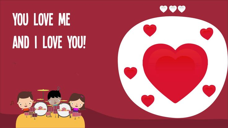I Love You Song for Kids | I Love You Song Lyrics | Nursery Rhymes