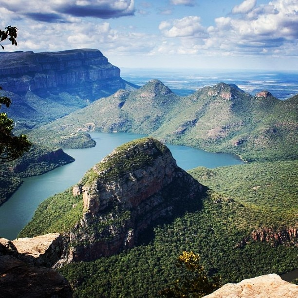 A beautiful view of the Panorama Route in Mpumalanga. Taken by IG user @oneworldtraveller.