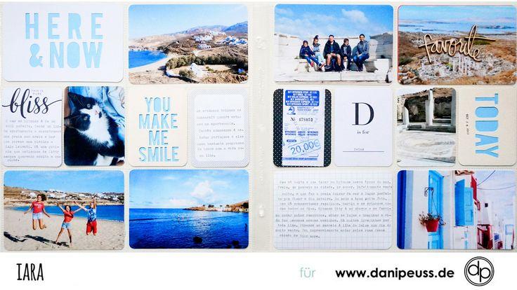 Zauberhafte Project Life Seite mit dem Dezember Project Life Kit | von Iara Gomez-Baer für www.danipeuss.de | #danipeuss #scrapbooking #projectlife #bastelnmitpapier