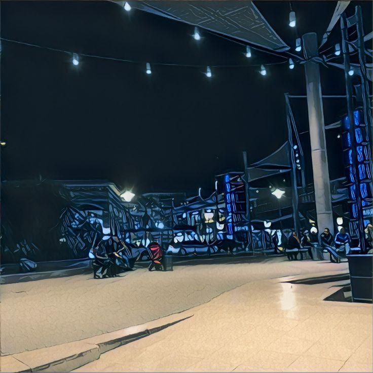 Blue Lights in mersin.   #Bluelights #Mersin #Citylights #Prisma