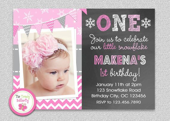 50 best 1st birthday party ideas images – One Year Old Party Invitations