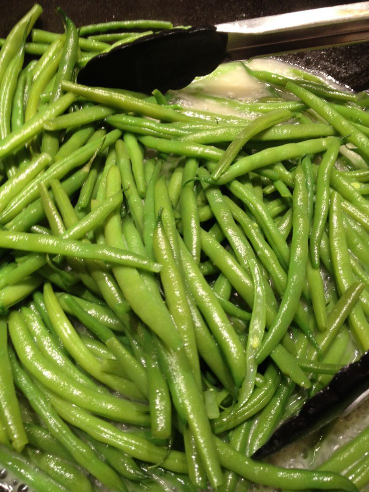 The best (and easiest) way to cook green beans: From Suebee's kitchen blog