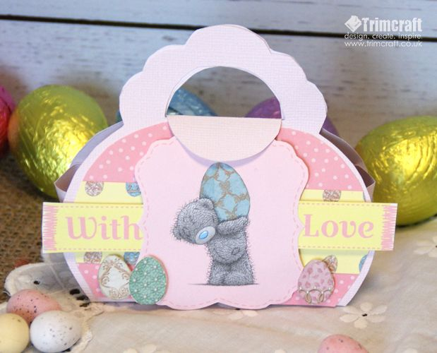 114 best bag tutorials images on pinterest hand bags paper easter me to you mini gift bag tutorial with free template negle Gallery