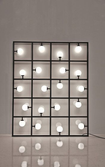 Squares floor wall lamp by Atelier Areti Interior Lighting, Modern Lighting, Lighting Design, Light Art, Lamp Light, Atelier Areti, Blitz Design, Deco Luminaire, Bedroom Lamps