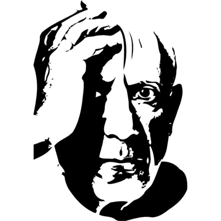 102 best images about famous personalities on pinterest for Silhouette wall art