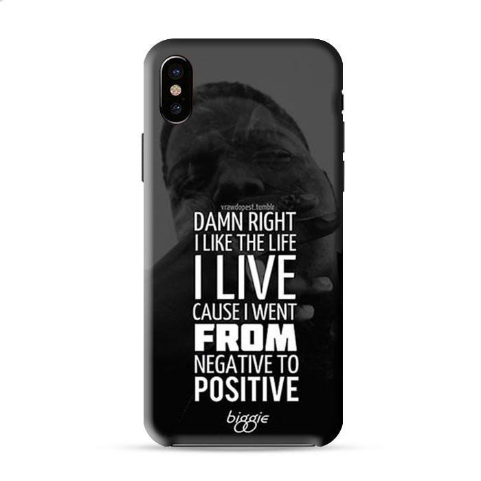 Famous Biggie Quotes Iphone X 3D Case Caseperson
