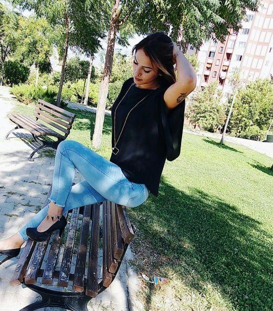 Major Geniş Kol Kolyeli Siyah Bluz - 1 #bluz #siyah #modelleri #kolyeli #yeni #2017 #yaz #indirim #kampanya #kapıdaödeme #genişkol #dekolte
