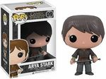 Arya Stark Vinyl Figure Manufacturer: Funko Series: Game of Thrones Release Date: May 2013 For ages: 4 and up UPC: 830395030890 Details (Description): Game of Thrones is one of the hottest shows on HBO! They recently received 11 Primetime Emmy nominations, including Outstanding Drama Series. If you are not watching this show, and also you are an adult, YOU SHOULD PROBABLY START NOW!