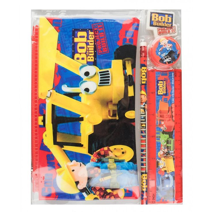 Bob the Builder Study Kit