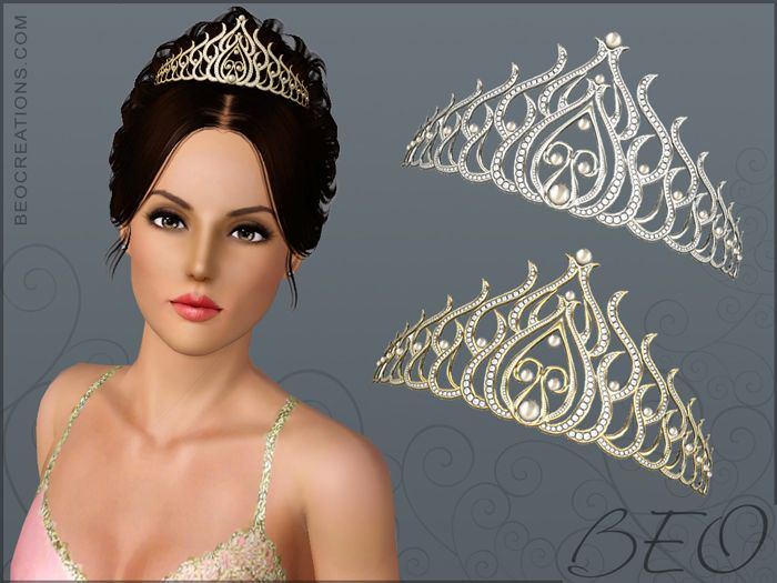 BEO CREATIONS-Diamond Tiara