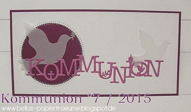 {Bellas} Papierträume: Kommunion °7 / 2015