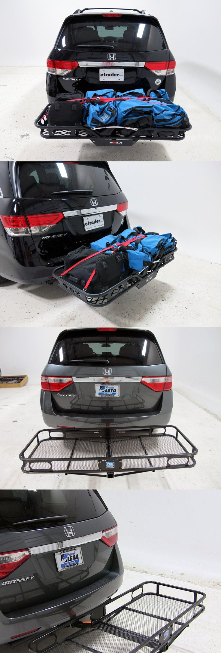 Top 20 best cargo carriers for the Honda Odyssey - check out installation videos and read reviews for the top rated carriers based on performance sturdiness and functionality! All are great for camping, hiking and fishing gear storage while traveling!  http://www.etrailer.com/partlist.aspx?vmake=Honda&vmodel=Odyssey&productgroup=Cargo%20Carriers