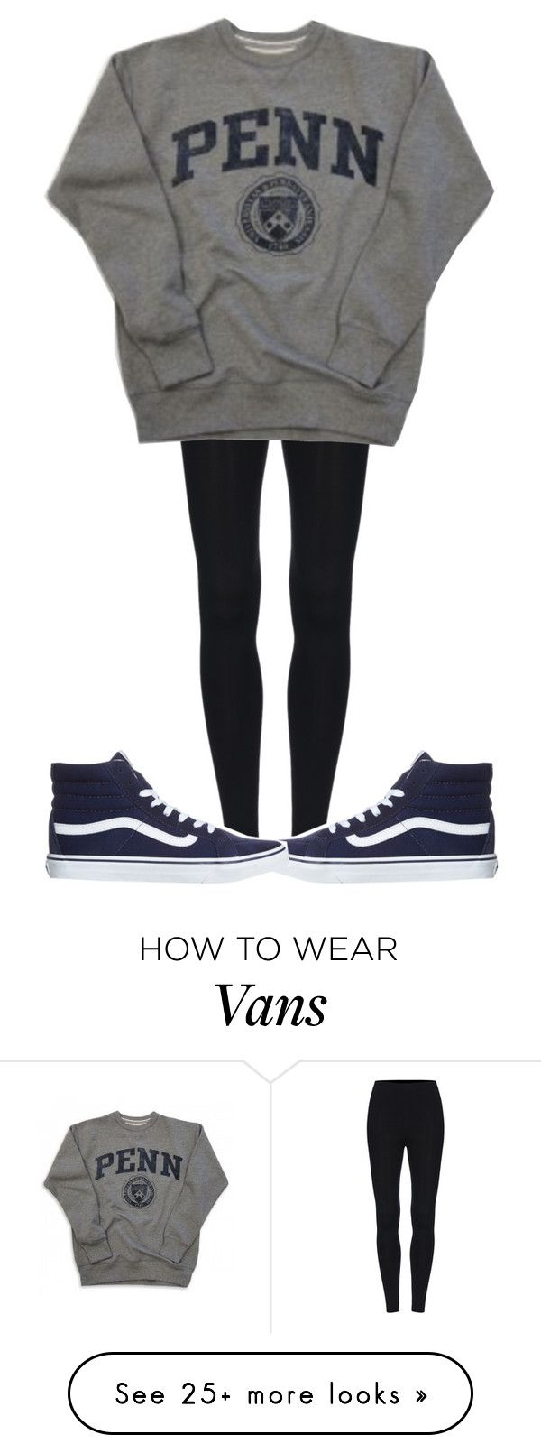 """"""""""" by sydthekyd01 on Polyvore featuring Vans"""