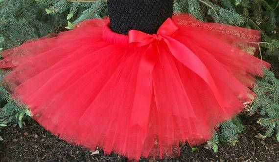 PICK YOUR COLORS Red Tutu Skirt Red Adult Tutu Red Baby